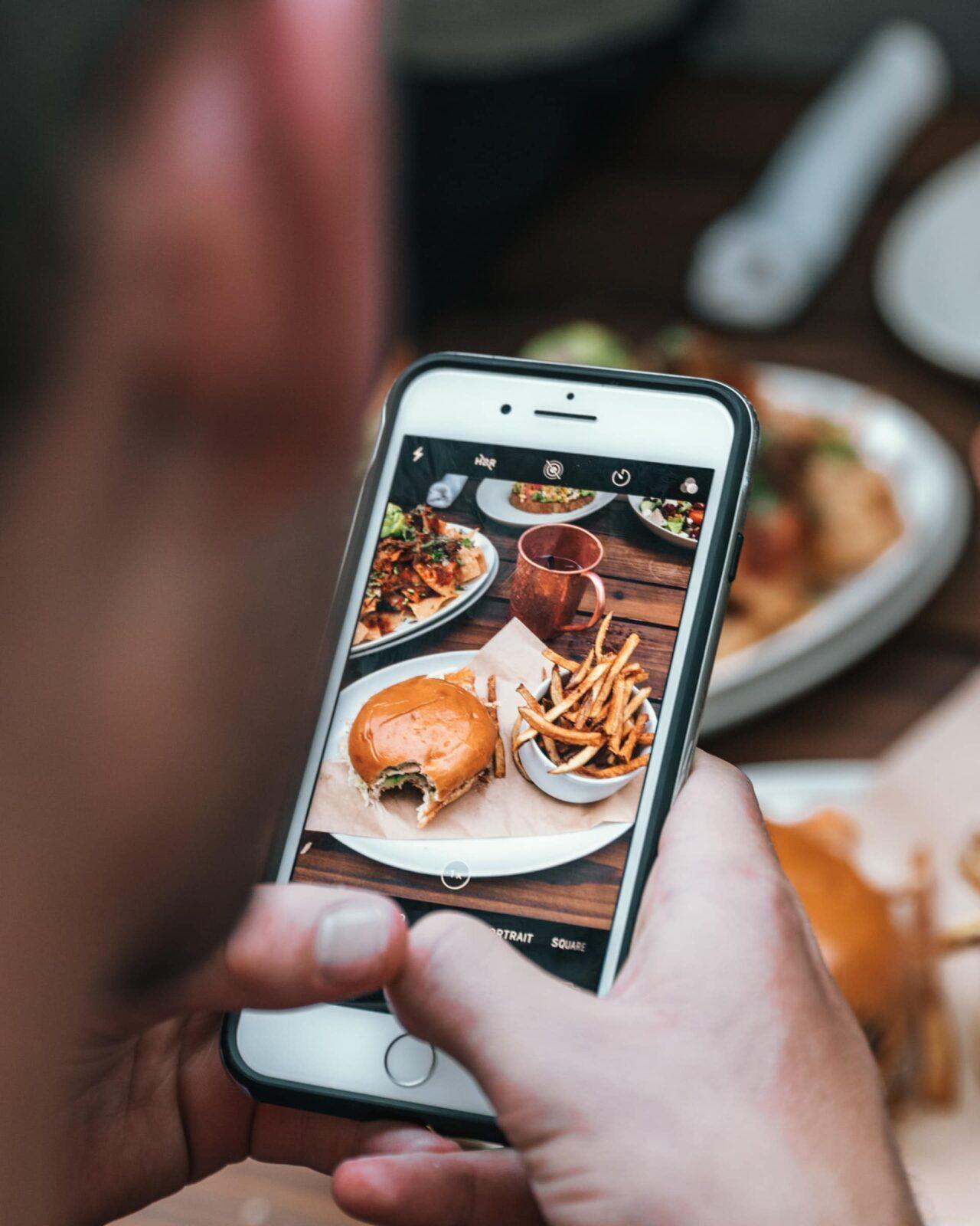 мобильное приложение ресторана